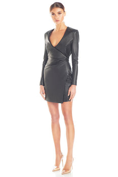 Misha Collection - Yves Leather Dress
