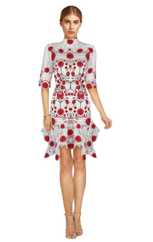 Thurley - English Rose Dress