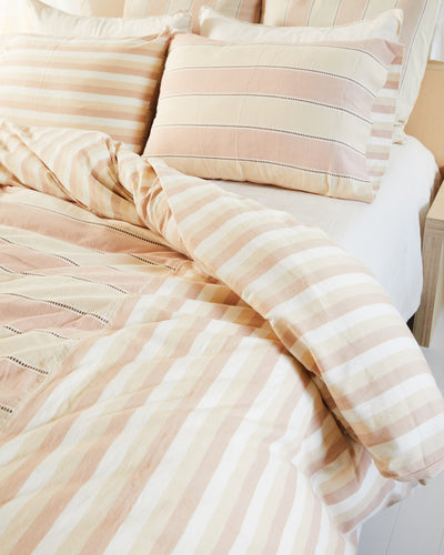 Stripes Duvet Cover - Clay