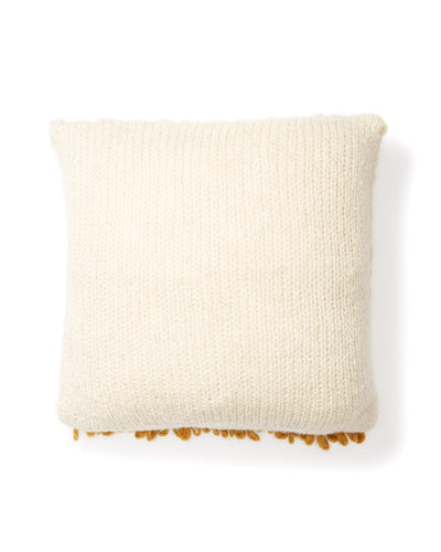Moon Shag Pillow - Gold
