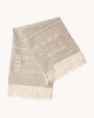 Blocks Towel - Beige