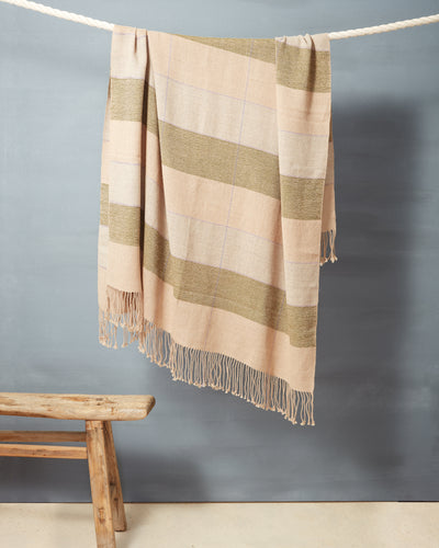 Grid Throw - Fern