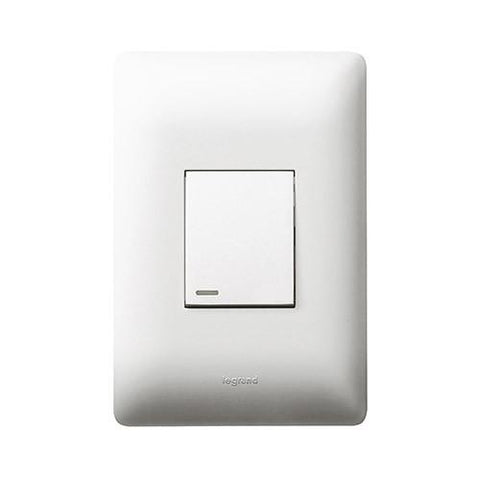 1 Lever Switch - White