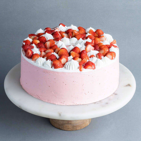 "Berry Explosion Cake 9"" - Bundt - Just Heavenly - - - - Eat Cake Today - Birthday Cake Delivery - KL/PJ/Malaysia"