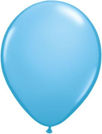 "Latex 11"" Pale Blue Balloons"