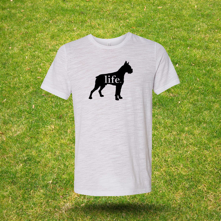 Boxer 'Dog Life' Gents T