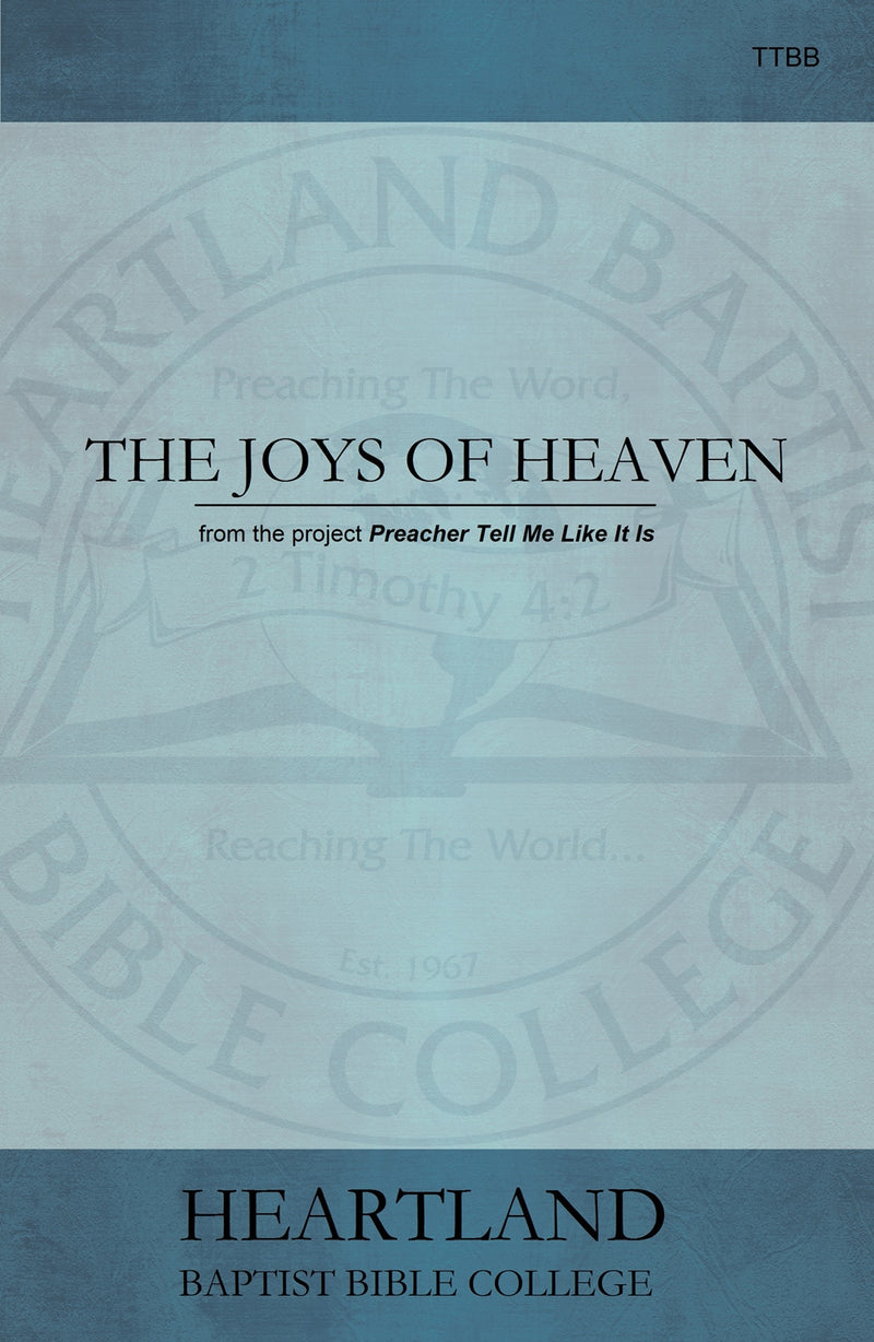 The Joys of Heaven Sheet Music