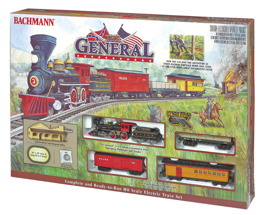 BAC00736 Bachmann HO The General Train Set