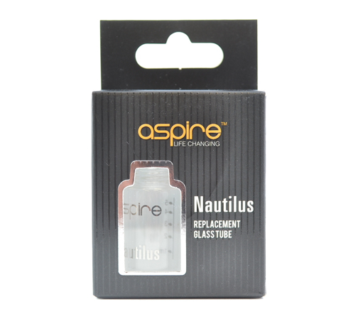 Aspire Nautilus Pyrex Glass Tube Clear