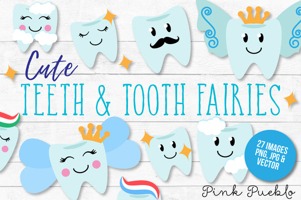 Tooth Fairy Clipart and Vectors