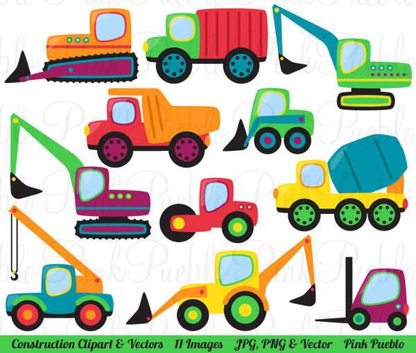 Construction Clipart and Vectors - PinkPueblo