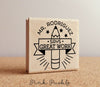 Personalized Teacher Stamp, Teacher Gift or Teacher Appreciation Gift, Teacher Stamp for Grading - PinkPueblo