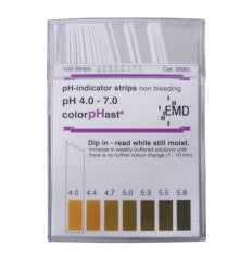 ColorpHast pH Test Strips