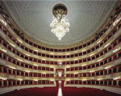La Scala, Milan, Italy - 3 sizes, $10,600-$31,500