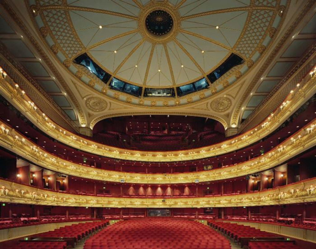 David Leventi - Royal Opera House, Covent Garden, London - 3 sizes, $10,600-$31,500, Fujicolor Crystal Archive Print Mounted on Archival Substrate, Framed in White with Plexiglass,  - Bau-Xi Gallery