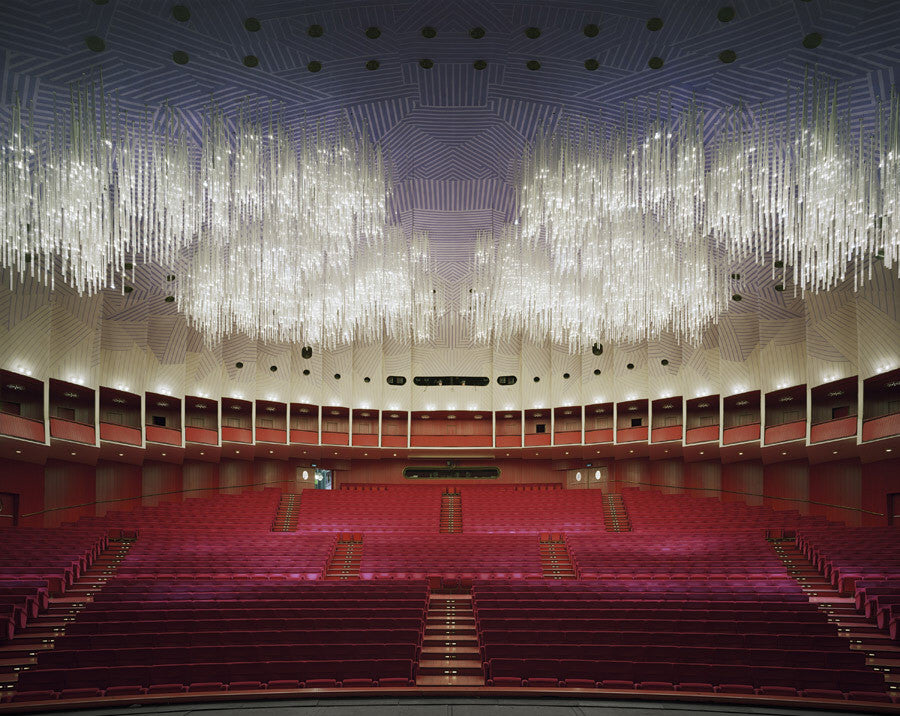 David Leventi - Teatro Regio, Turin, Italy - 3 sizes, $10,600-$31,500, Fujicolor Crystal Archive Print Mounted on Archival Substrate, Framed in White with Plexiglass,  - Bau-Xi Gallery