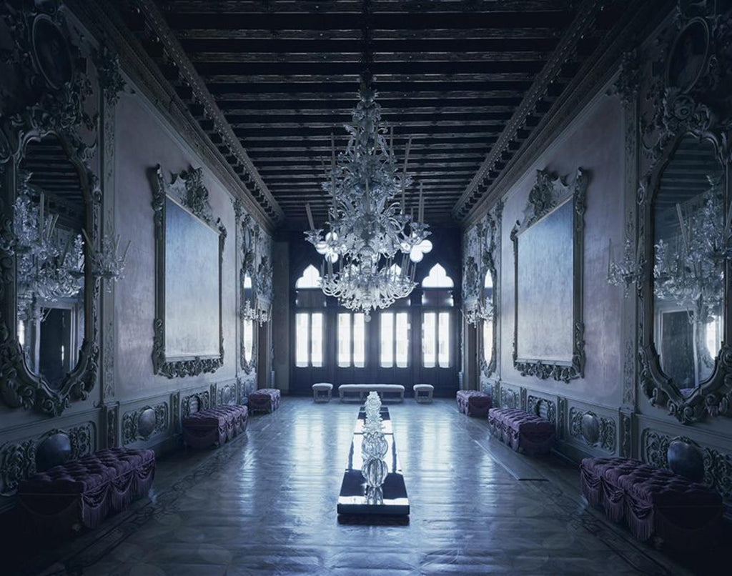 David Leventi - Palazzo Giustinian dalle Zogie - 3 sizes, $10,600-$31,500, Fujicolor Crystal Archive Print Mounted on Archival Substrate, Framed in White with Plexiglass,  - Bau-Xi Gallery