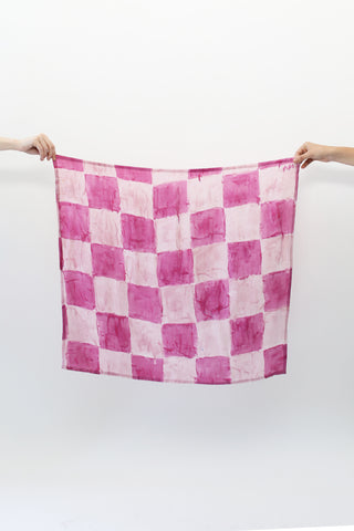 Large Checkerboard Scarf
