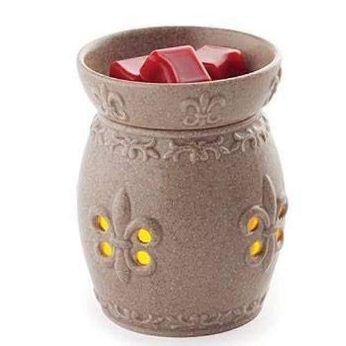 French Lily Glimmer Candle Warmer - Fine Gifts La Bella Basket Company