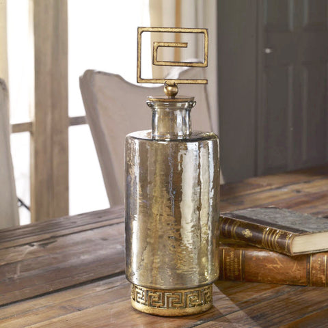 Neev Luster Glass Decanter - Innovations Designer Home Decor