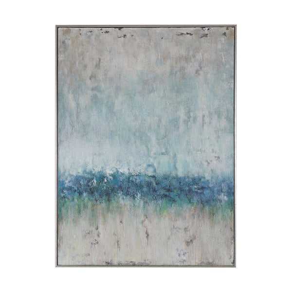 Tidal Wave Contemporary Abstract Hand Painted Artwork by Uttermost