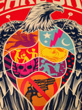 Pearl Jam - 2013 Trusto Corp poster print Los Angeles night 2 Artist signed