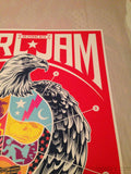 Pearl Jam - 2013 TrustoCorp poster print Los Angeles night 2 II 1st edition show