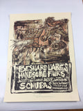 Besnard Lakes, Handsome Furs - 2007 Dan Grzeca Poster Chicago, IL Schubas