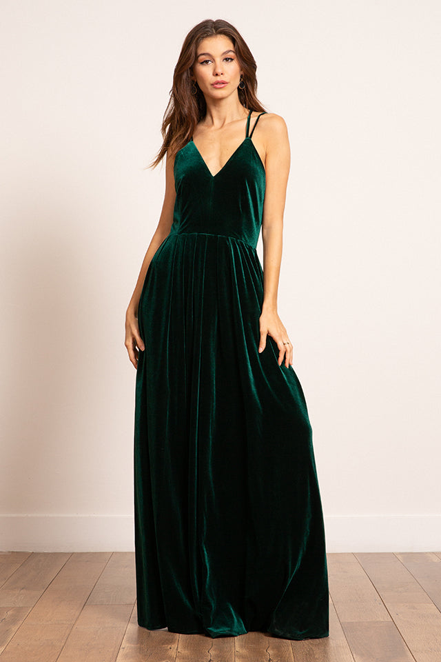 Lucy Paris - Megan Velvet Dress