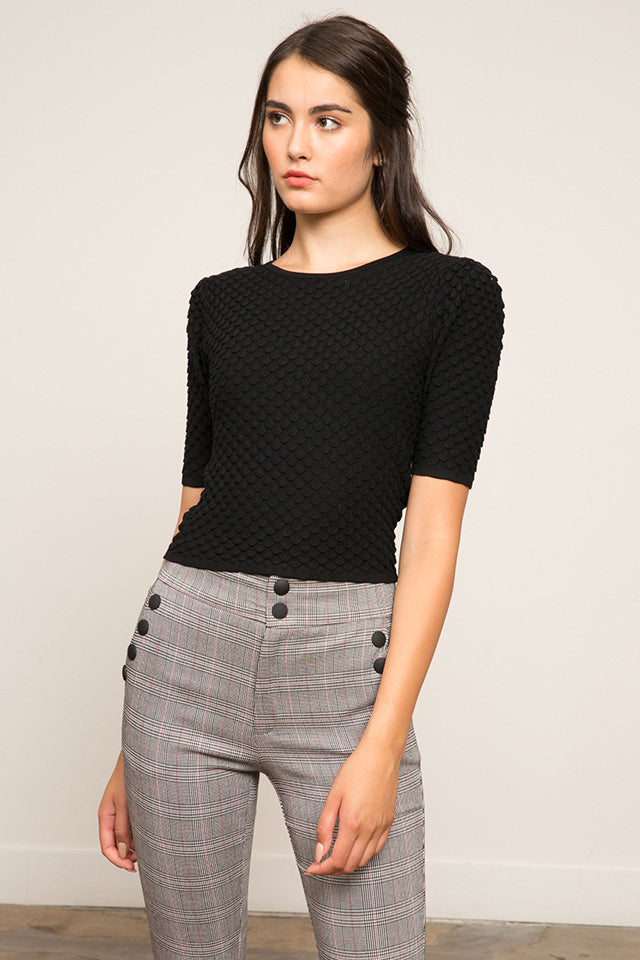 Gracie Bubble Sleeve Sweater