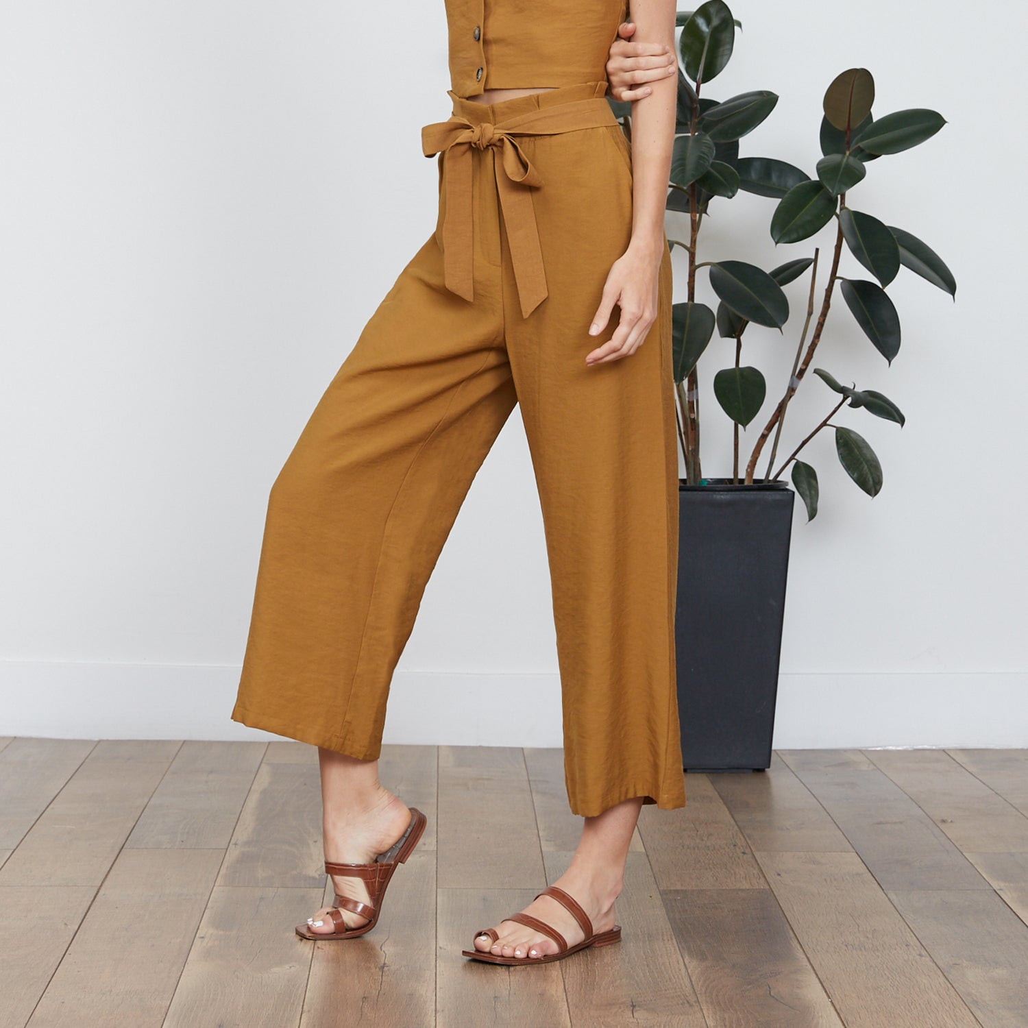 Amber Front Tie Pant