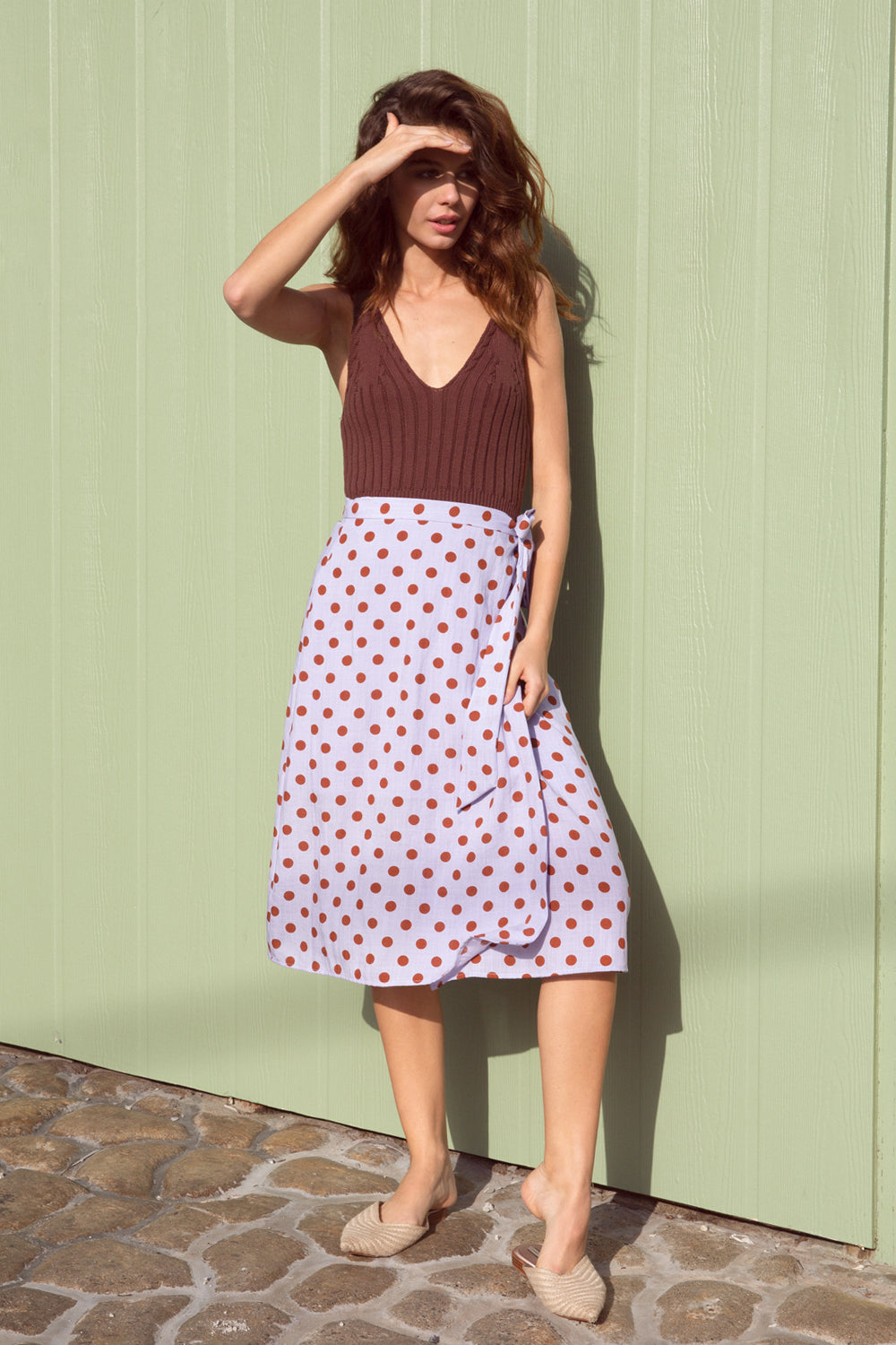 Katelyn Polka Dot Skirt