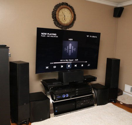 Featured Home Theater System: James in Cresskill, NJ