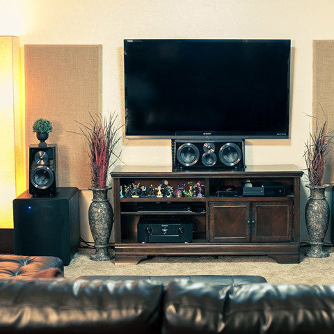 Featured Home Theater System: Chris in Alameda,CA