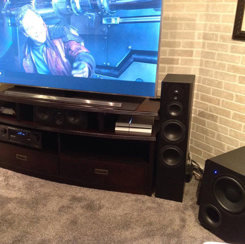 Featured Home Theater System: John in Scranton, PA