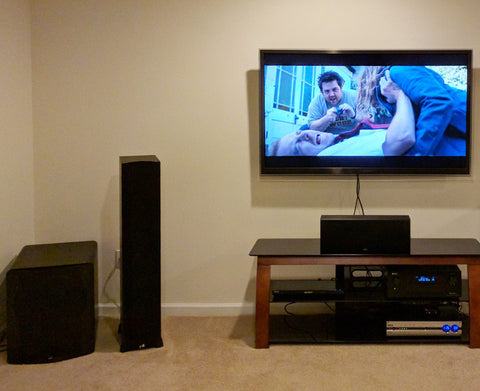 Featured Home Theater System: Rob in Moraine, Ohio