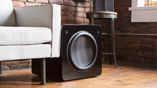 Subwoofer. Links to the Outlet Specials page.
