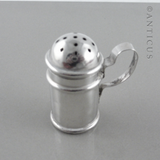 Victorian Silver Small Pepper Pot,  1898.