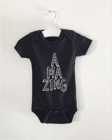 AMAZING word onesie