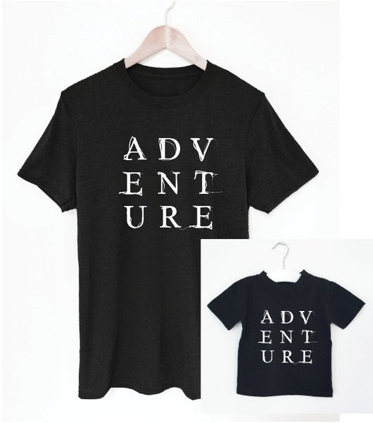 ADVENTURE father/son tee matching set