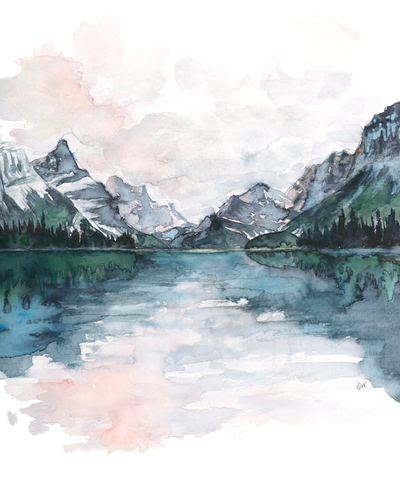 NEW Print - Maligne Lake