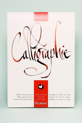 Brause 'Calligraphie' Paper Pad
