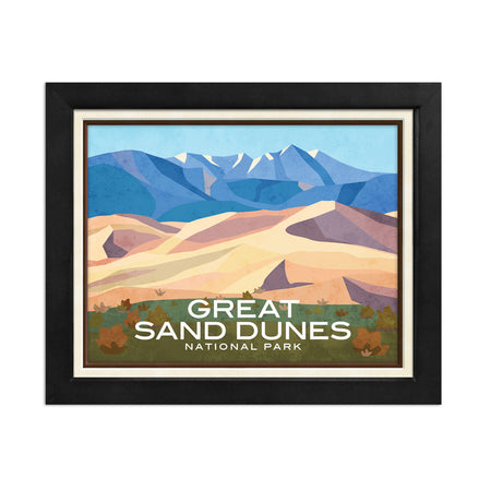 Denali National Park Print