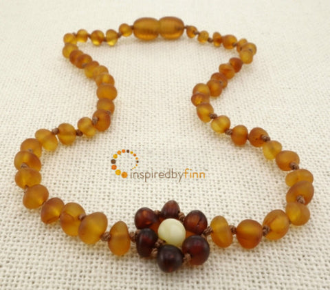 Inspired by Finn Amber Necklace (Children's Sizes)