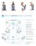 Beco Gemini Soft Structured Carrier