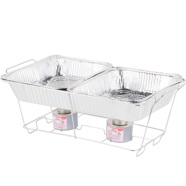 Wire Chafer Set with Sternos