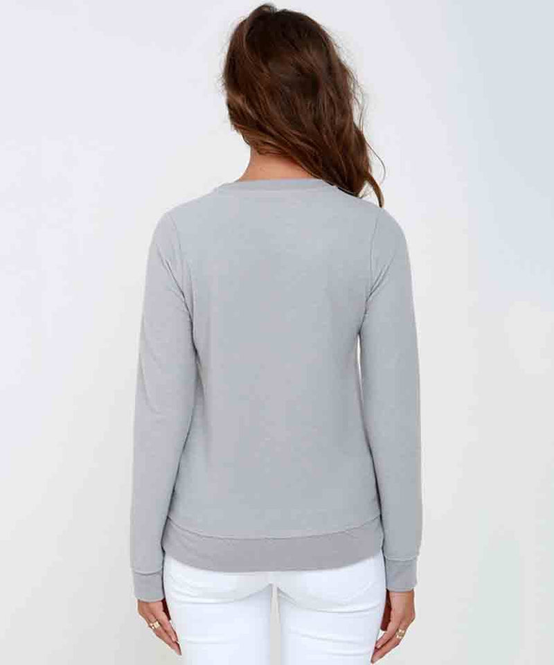 I Heart Weekends  Sweatshirt, Chaser Brand,- Pink Arrows Boutique