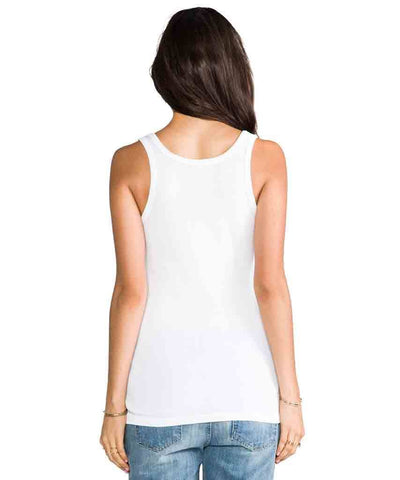 1 x 1 White Tank  Tank Tops, Splendid,- Pink Arrows Boutique