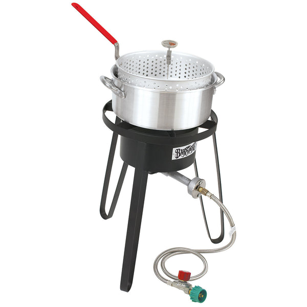 Bayou Classic Sportsman's Choice Deep Fryer Cooking Kit