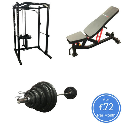 Heavy Duty Rack with Lat Attachment